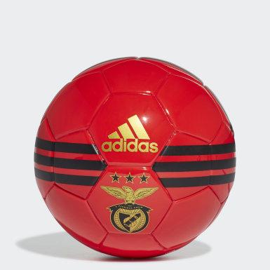 Fotbal červená Míč Benfica Mini
