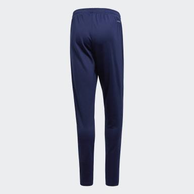 ผู้ชาย ฟุตบอล สีน้ำเงิน กางเกงเทรนนิงขายาว Core 18