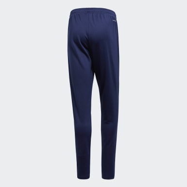 Men Training Blue Core 18 Training Tracksuit Bottoms