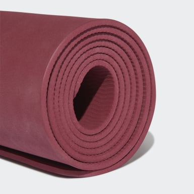 Training Premium Yogamatte, 5 mm Weinrot