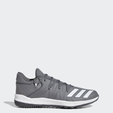 Baseball Grey Speed Turf Shoes