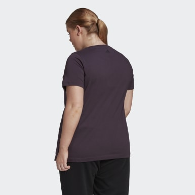Women's Essentials Purple Essentials Branded Tee (Plus Size)