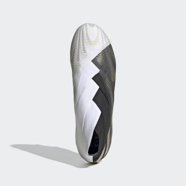 Fodbold Hvid Nemeziz+ Firm Ground støvler