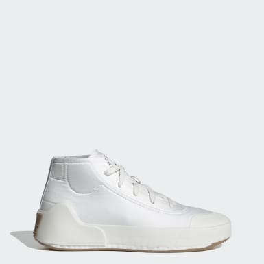 Kvinder adidas by Stella McCartney Hvid adidas by Stella McCartney Treino Mid-Cut sko