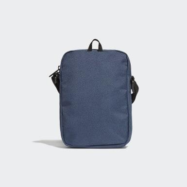 Lifestyle Blue Essentials Logo Shoulder Bag