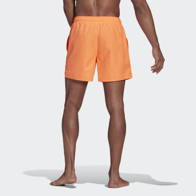 Short de bain Solid Orange Hommes Natation