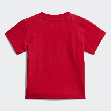 Děti Originals červená Tričko Trefoil
