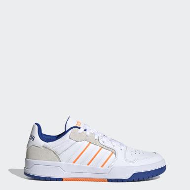Basketball Entrap Schuh Weiß
