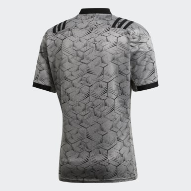 Heren Rugby Grijs All Blacks Trainingsshirt