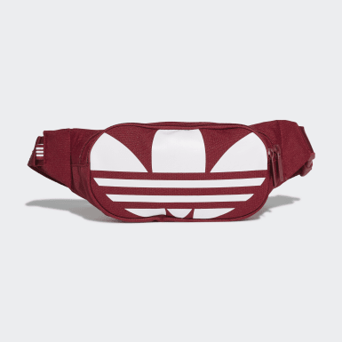 Originals Burgundy Adicolor Essential Waist Bag