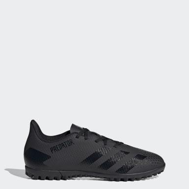 Men Football Black Predator 20.4 Turf Boots