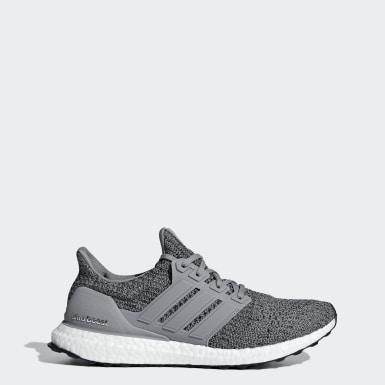 Running Grey Ultraboost Shoes