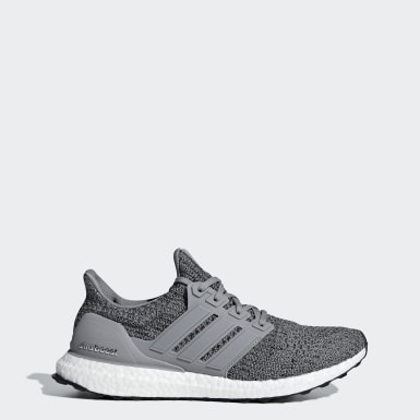 Running Ultraboost Schuh Grau