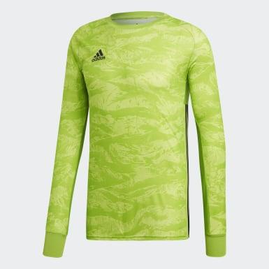 Maglia AdiPro 18 Goalkeeper Verde Uomo Calcio
