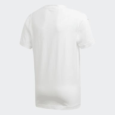 Boys Yoga Hvid Sport ID T-shirt