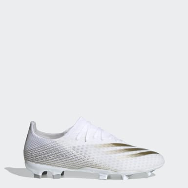 Scarpe da calcio X Ghosted.3 Firm Ground Bianco Calcio