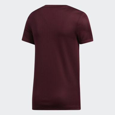 Youth Training Burgundy Tee
