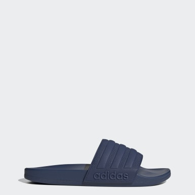 Men's Swim Blue Adilette Comfort Slides
