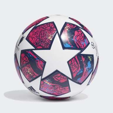 Football White UCL Finale Istanbul League Ball