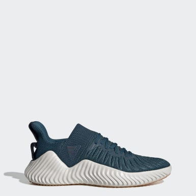 Men's Training Blue Alphabounce Trainer Shoes