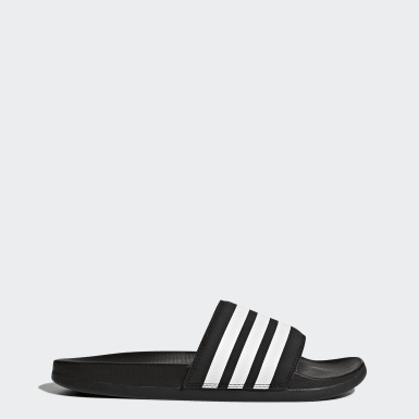 Sandalias Adilette Cloudfoam Plus Stripes