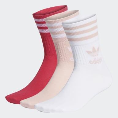 Mid Cut Crew Socks 3 Pairs