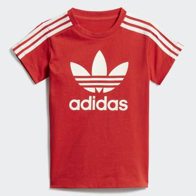 Conjunto Remera Vestido Rojo Niño Originals