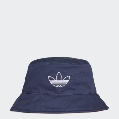 Originals สีน้ำเงิน หมวกปีกรอบ SPRT