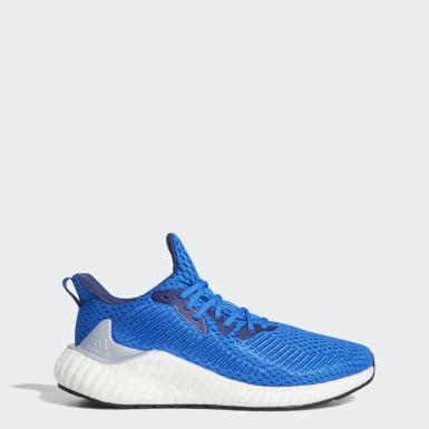 Chaussure Alphaboost bleu Hommes Course