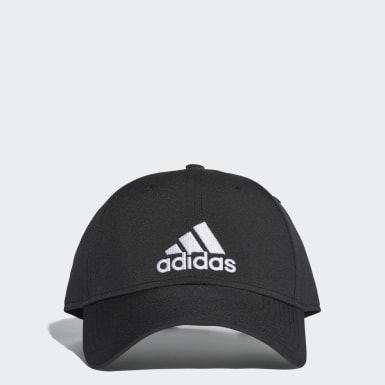Training Black Classic Six-Panel Lightweight Cap