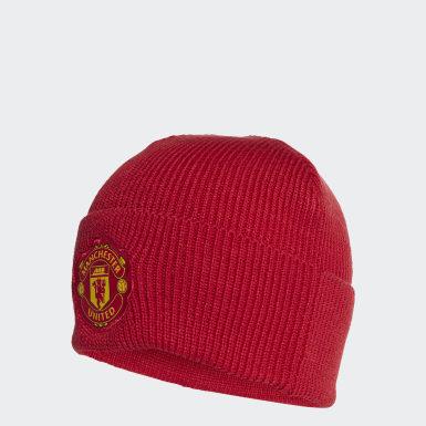 Bonnet Manchester United Rouge Football