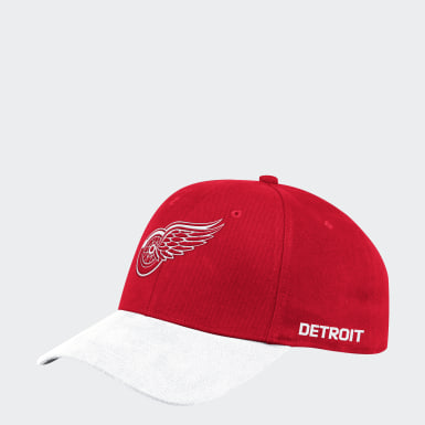Men's Hockey Multicolor Detroit Red Wings Coach Structured Flex Cap
