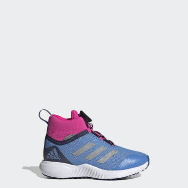 Børn Løb Blå FortaTrail X Boa sko