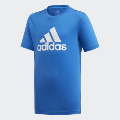 Camiseta Prime Azul Meninos Training