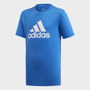 синий Футболка для фитнеса Prime