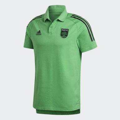Men's Soccer Green AUS POLO