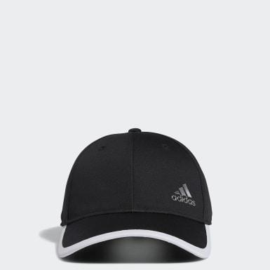 ผู้หญิง กอล์ฟ สีดำ หมวกแก๊ป Silver Logo