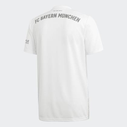 Adidas White Fc Bayern Deutschland München Weiß Auswärtstrikot qUjLzMGSVp