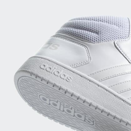 Hoops Weiß Adidas Schuh Cloud 0 Mid Deutschland 2 White 5RjL4c3Aq