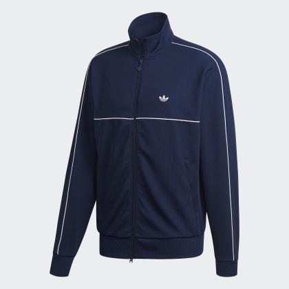 Adidas Night Jacke Blau Samstag Originals Deutschland Indigo vnw80mN