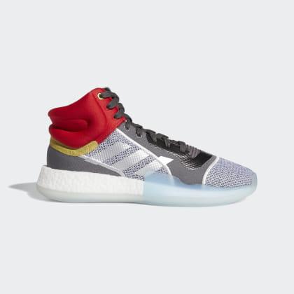 Boost Grey Deutschland Adidas Marquee Grau Met Schuh OneSilver HWE2IYD9