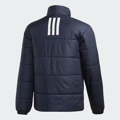 Bsc Insulated Deutschland Adidas streifen 3 Jacke Blau Legend Ink ucTlJ3K15F