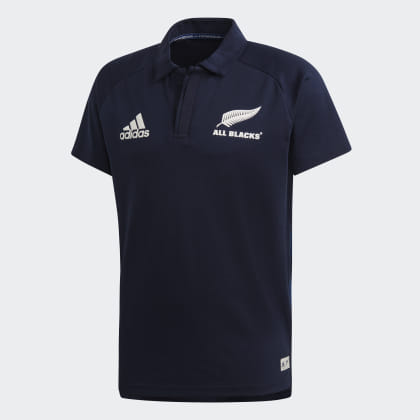 Adidas All Poloshirt Deutschland Blacks Parley Blau Legend Ink j34RLqcA5