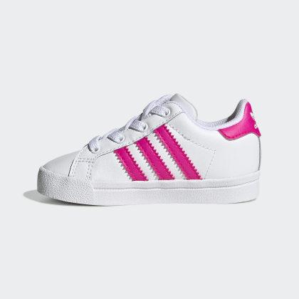 Weiß Cloud Schuh WhiteShock Pink Adidas Star Coast Deutschland XiPZuOk