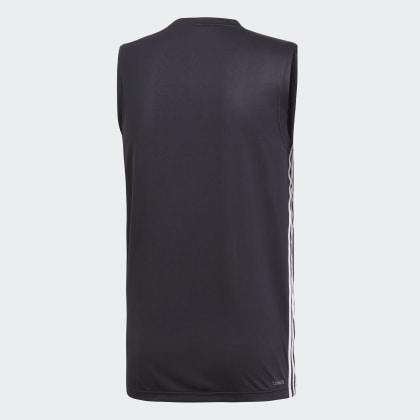 Adidas Design 3 shirt Move streifen T Schwarz 2 Deutschland Black 0PNk8nwOX