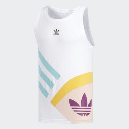 Sportive Tanktop Adidas Deutschland White Nineties Weiß xdCroBe