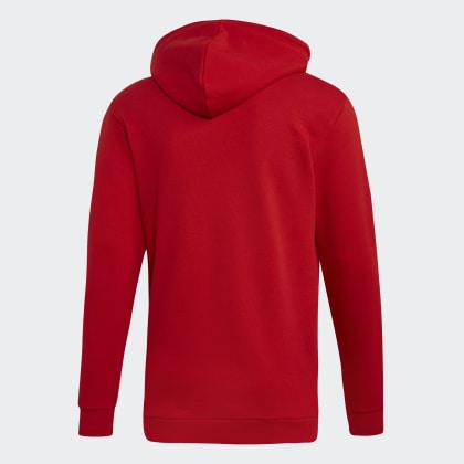 Hoodie Trefoil Rot Deutschland ScarletWhite Adidas cF1KJl