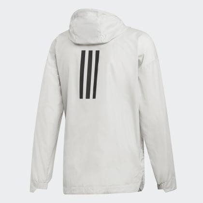 Adidas Climastorm Weiß Urban Deutschland White Raw Windjacke BdCeox