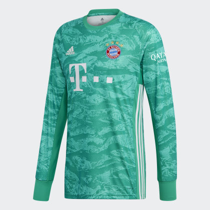 Green heimtrikot Adidas Torwart Core Grün Fc München Deutschland Bayern 6Yfyb7g