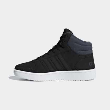 Core 0 Adidas Six Schuh Mid BlackGrey Schwarz Deutschland Hoops 2 NOvm8n0w